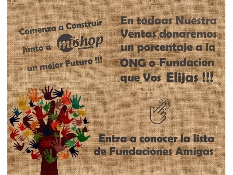 Próximamente daremos a conocer la lista completa de Fundaciones afiliadas a mishop.