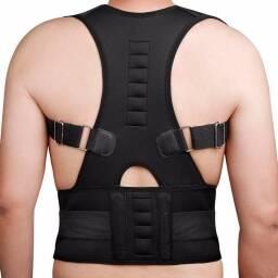 Espaldar - Corrector de postura , 10 imanes, Corrector de postura magnético