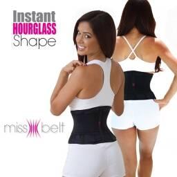 Faja modeladora y contenedora de cintura, abdomen y espalda. MISS BELT
