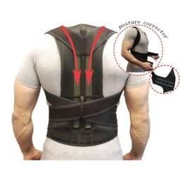 Corrector de postura para clavícula, hombros, espalda. Cómodo, ajustable, soporte espinal